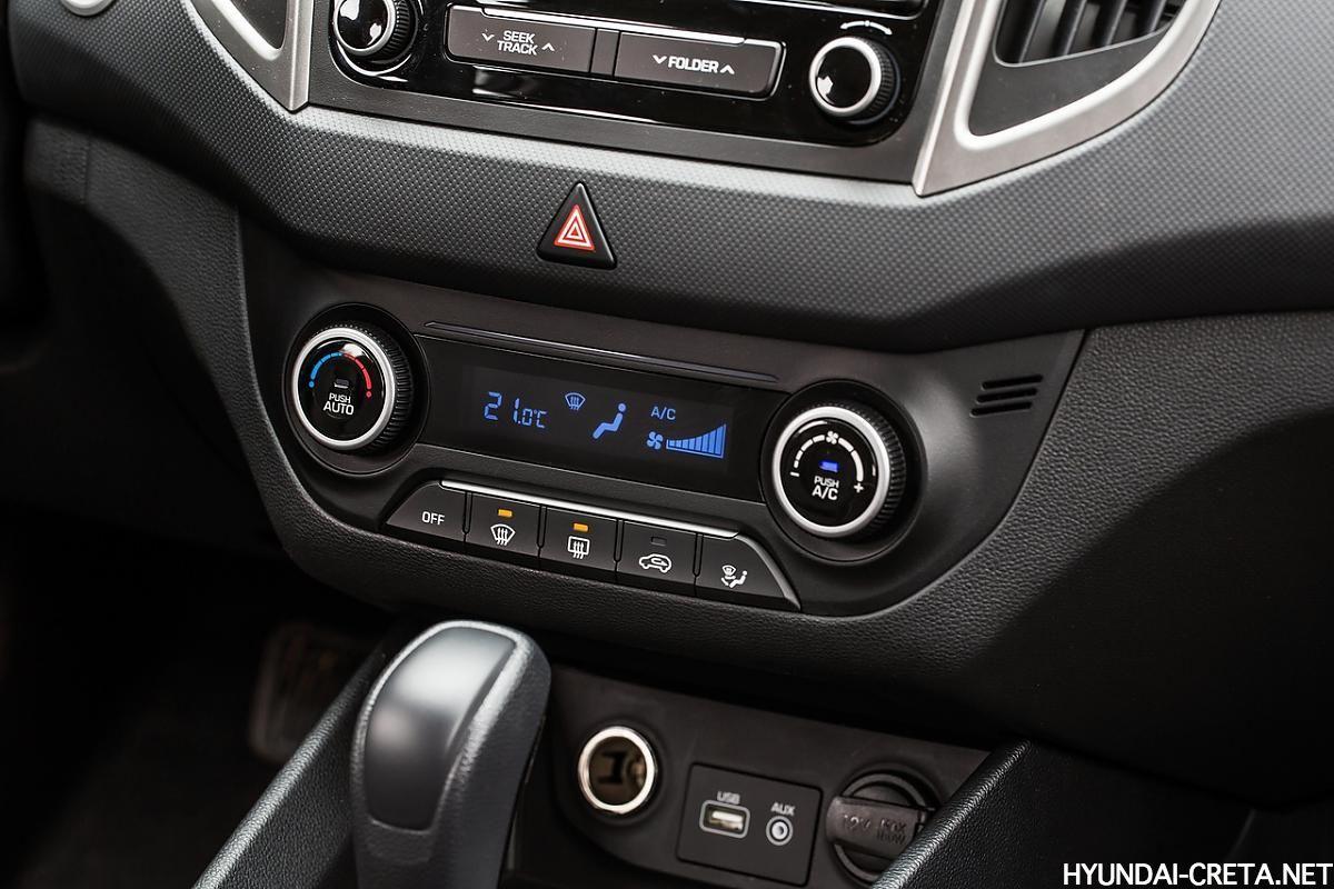 климат-контроль Hyundai Creta Россия