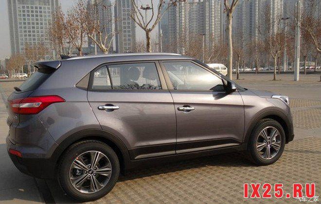 Hyundai Creta 2016 цвета серый металлик
