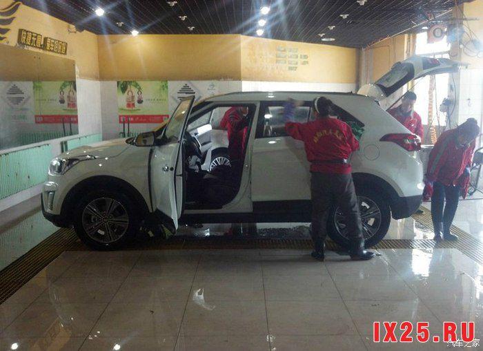 мойка Hyundai Creta