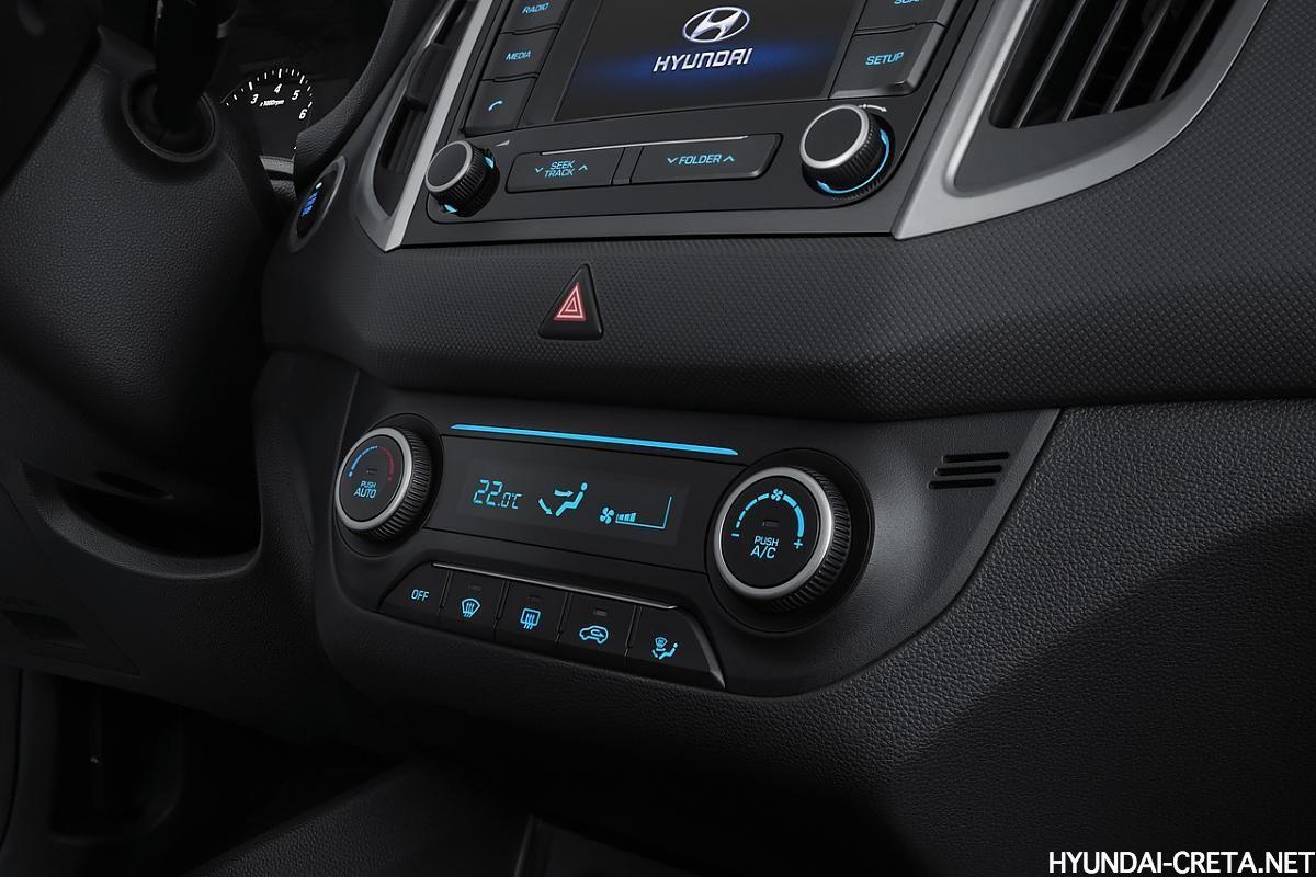 кондиционер Hyundai Creta Россия