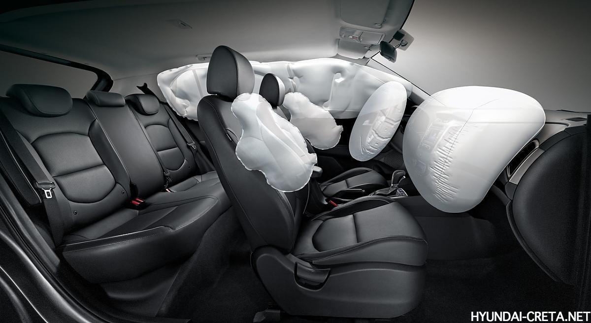 подушки безопасности на Hyundai Creta Россия