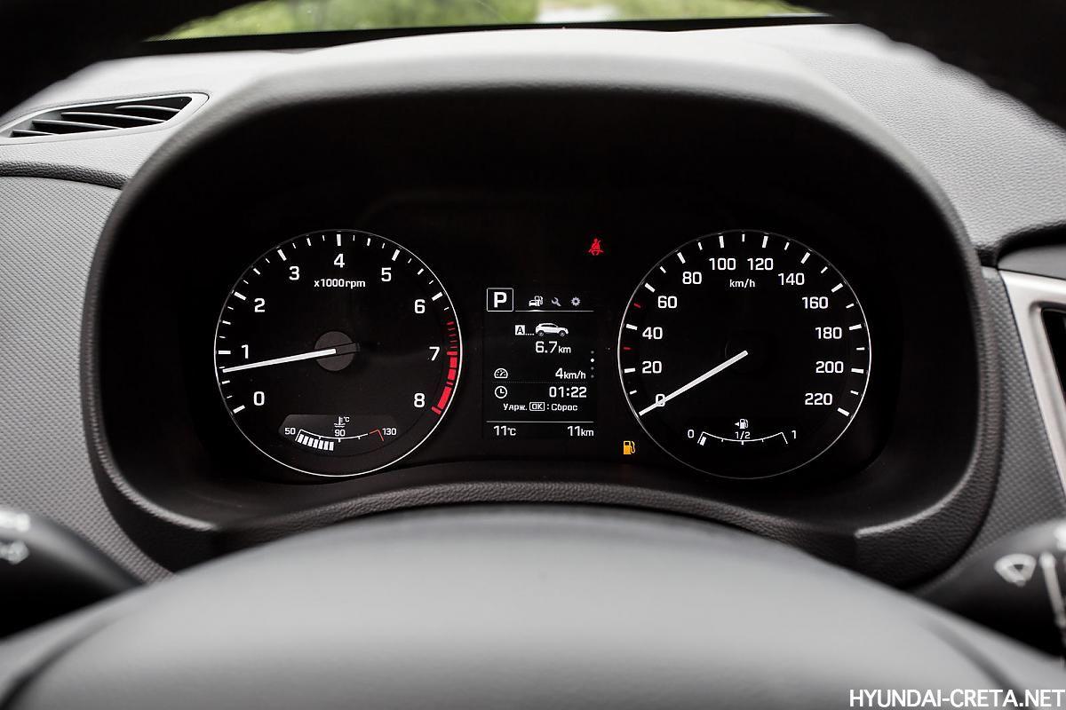 панель приборов Hyundai Creta Россия