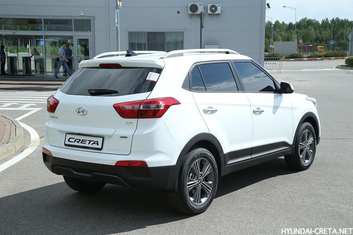 тонированная Hyundai Creta
