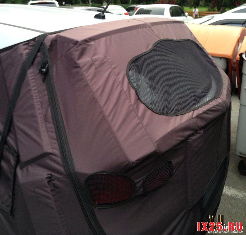 Hyundai Creta заднее стекло