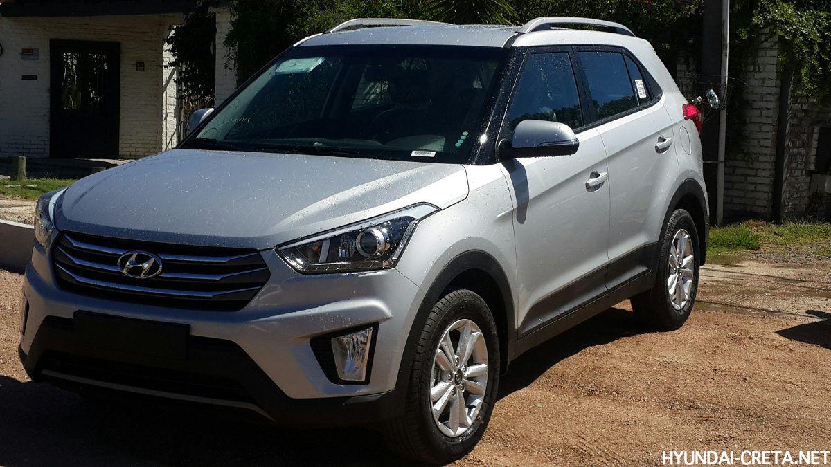 Hyundai Creta silver
