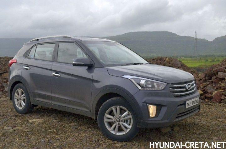 грязная Hyundai Creta