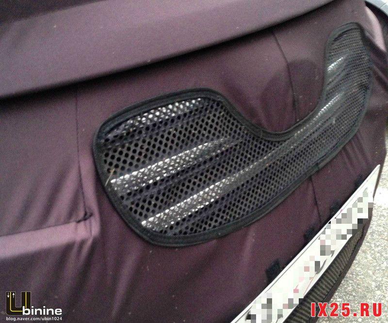 Радиаторная решетка Hyundai Creta фото