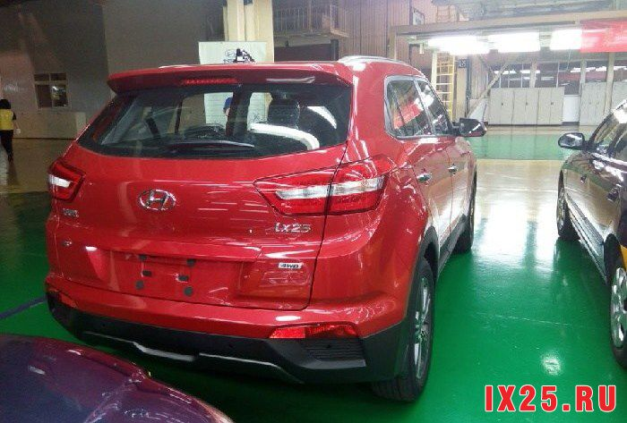 Производство Hyundai Creta на заводе