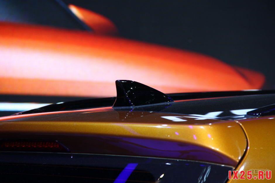 Hyundai Creta фото плавника
