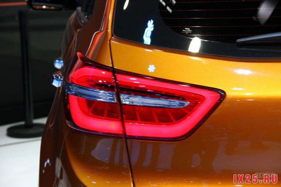фонарь Hyundai Creta