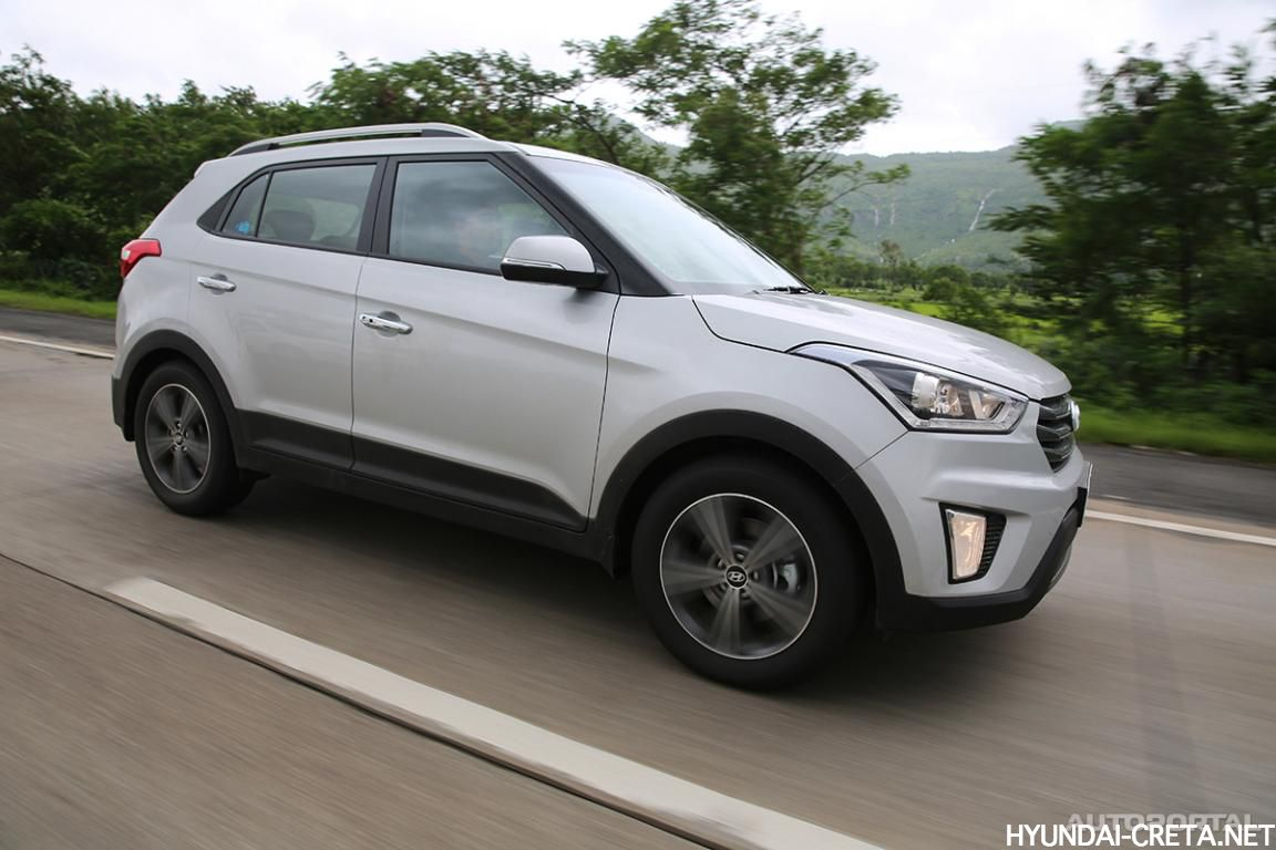 Hyundai Creta серебристый