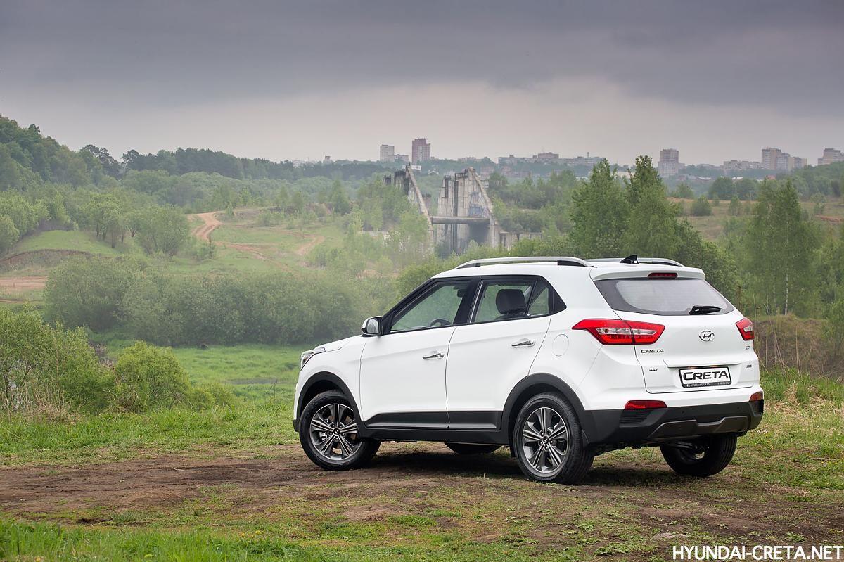 Hyundai Creta Россия на природе