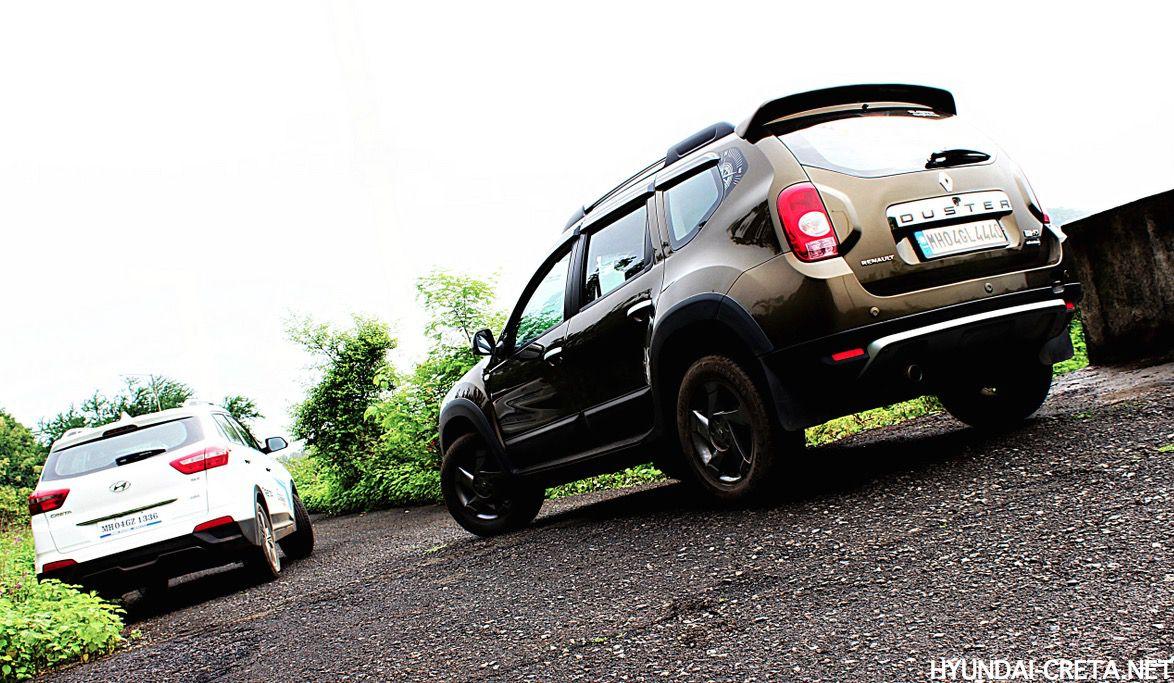 Hyundai Creta и Renault Duster